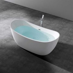 Single Ended Free Standing Acrylic Bath Tub 1780 X 780mm Vicenza 701 First Image