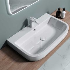 Counter Top Ceramic Basin Bruessel 5021 Second Image
