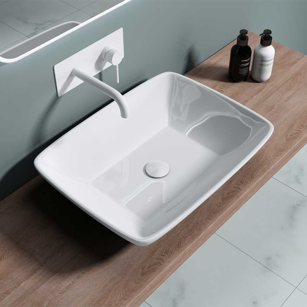 Counter Top Bathroom Basin Bruessel 102 Second Image