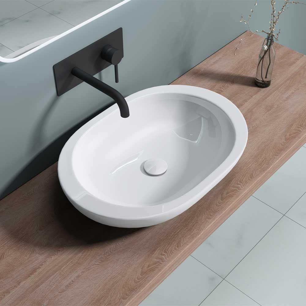 Counter Top Ceramic Wash Basin Bruessel 5056 Second Image