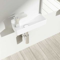 Wall Hung Cloakroom Sink Bruessel 3085R First Image