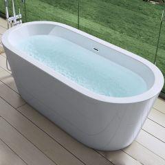 Double Ended Acrylic Freestanding Bath Tub