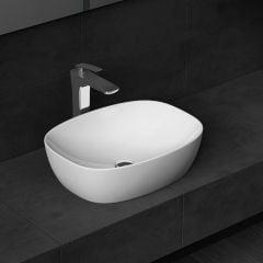 New Design Counter Top Compact Ceramic Sink 495 x 380mm Bruessel 336 Third Image