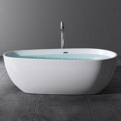 Freestanding Soaking Bath Acrylic Bath Tub 1670 X 800 X 530mm