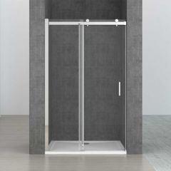 Frameless Sliding Shower Door | 8mm Safty Transparent Glass | Ravenna 17 First Image
