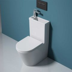 Close Coupled Toilet and Cistern With Sink | Aachen 179WB