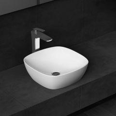 Counter Top Ceramic Bathroom Sink Bruessel 337 Second Image