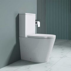 Close Coupled Toilet and Cistern With Soft Close Seat | Aachen 2179